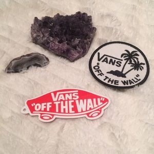 Vans Patch and Sticker